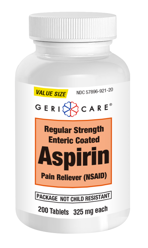 ASPIRIN COATED 325MG 200/BT