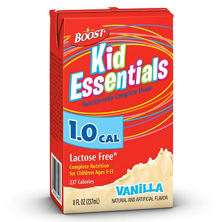 BOOST KID ESSENTIALS 8 OZ VAN
