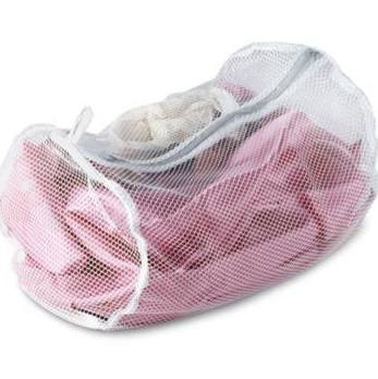 BRA BAG NYLON NET W/ ZIP CLOSE