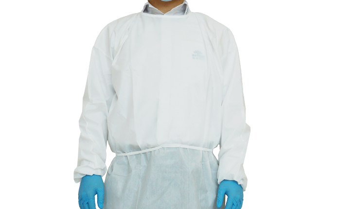 """ISOLATION GOWN 47""""X55"""" WHITE"""