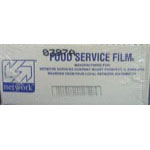 """FILM PVC ROLL 12""""X2000'"""