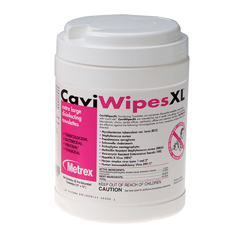 CAVI WIPE 6X6 3/4 CAVICIDE