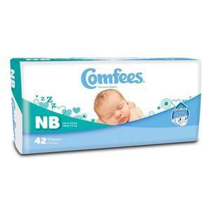 DIAPERS BABY COMFEES NB 168/CS