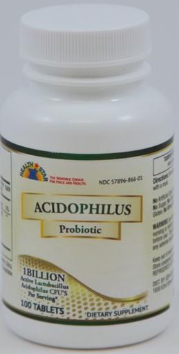 ACIDOPHILUS CAP 100/BTL