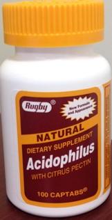 ACIDOPHILUS W/CITRUS PECTIN