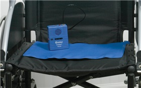 ALARM CHAIR PAD QUALCARE 6 MTH