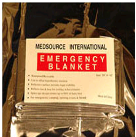 EMERGENCY BLANKET REUSABLE