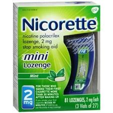 NICORETTE MINI LOZENGES 2MG