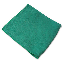 MICROFIBER CLOTH WIPERS GREEN