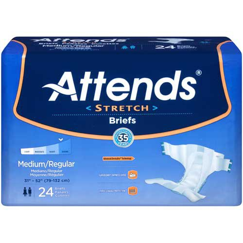 BRIEFS ATTENDS STRETCH MED/REG